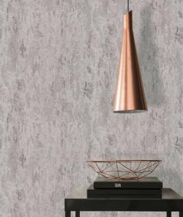 Vliestapete Patina Steintapete silber grau metallic Struktur 32651-6 / 326516