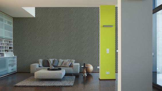 Vliestapete Uni Struktur Einfarbig grau Design by Mac Stopa 32728-4 - Vorschau 5
