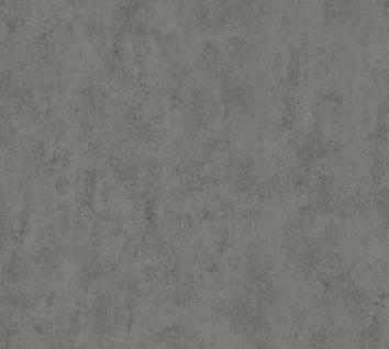 Vlies Tapete Uni Beton Optik Industrie Look anthrazit California 36393-2