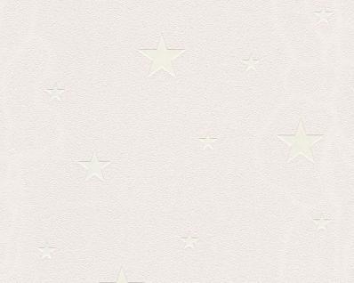 Vliestapete leuchtende Sterne creme beige 32440-4 sternchen tapete leuchttapete