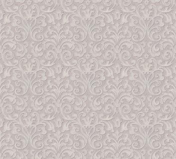 Vliestapete Ranken Barock altrosa metallic Großrolle 10, 05 x 1, 06 m 36388-5