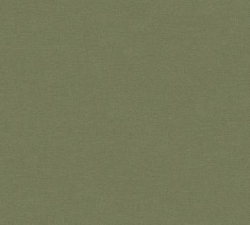 Uni Vlies Tapete Textil Optik oliv grün Palila 363159