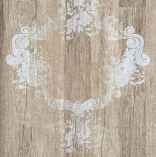 Vlies Tapete 46525 Antik Holz Ornament braun grau Royal Wood Design Elements