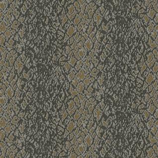 Design ID Vliestapete Textile Struktur Streifen braun gold metallic DE120130