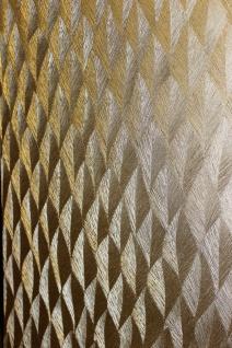 Guido Maria Kretschmer Vliestapete Gold metallic Glanz Federn Struktur 10049-30 - Vorschau 2