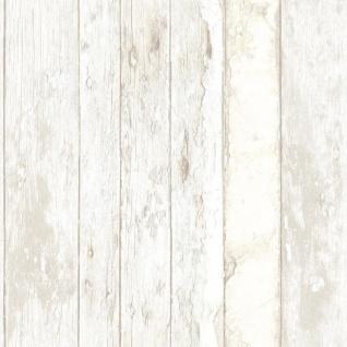 Vliestapete Antik Holz rustikal verwittert beige braun grau vertäfelung Landhaus