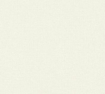 Vliestapete Uni Struktur Textil Leinen Optik creme beige 36776-3 / 367763