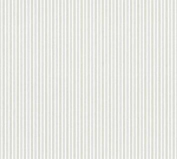 Vliestapete Kinder Streifen Muster weiß silber grau metallic gestreift 35565-2