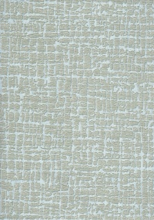 Elegante Uni Stickoptik Stoff Struktur Vliestapete pastelltürkis metallic 120103