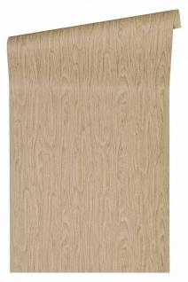 Versace 4 VliesTapete Uni Holzoptik Struktur beige braun 370522