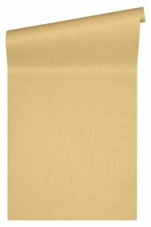 Versace 4 Luxus Uni Textil Optik Vlies Tapete gelb gold metallic 343275