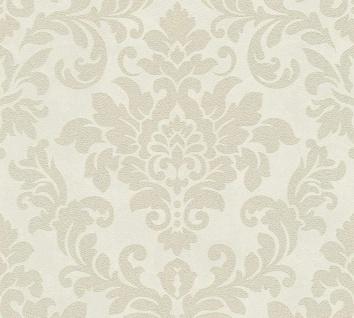 Barock Ornament Vlies Tapete creme beige Glitzer Trendwall 37270-3 / 372703