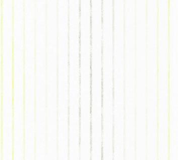 Esprit Kids 5 Tapete Streifen grau grün weiß gestreift 35695-1 / 356951