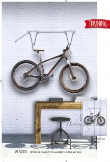 Vlies Foto Tapete Fahrrad bicycle Training Wandbild 200 x 300cm DI2033