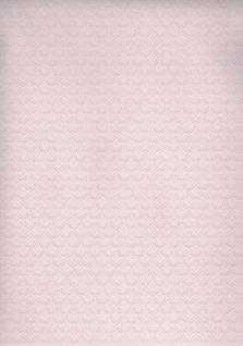 Vliestapete Stepp Optik Rautenprägung Glitzer rosa 36897-1 Metropolitan Stories