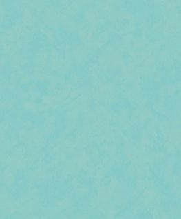 Vliestapete Spachtel Putzstruktur türkis blau A20814