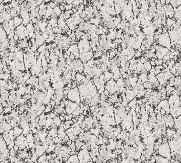 Vliestapete Uni Marmorstruktur grau schwarz Großrolle 10, 05 x 1, 06 m 36325-3