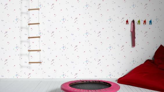 Esprit Kids 5 Tapete weiß Sterne blau lila pink 35696-3 / 356963 - Vorschau 3