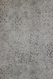 Krakelee Struktur Vliestapete grau taupe Ornamente Craquelé Toscana 642-03