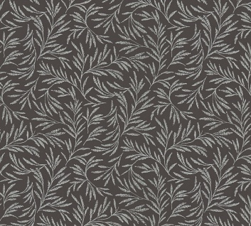Vliestapete Blätter Zweige Äste schwarz glanz Architects Paper Alpha 33326-5