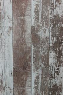 Vliestapete Antik Holz rustikal verwittert kiesel braun vertäfelung 68617 shabby