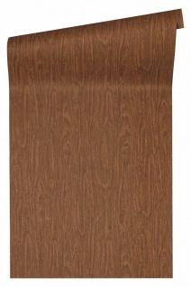 Versace 4 VliesTapete Uni Holzoptik Struktur braun orange 370523