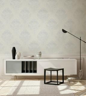 Vliestapete Barock Ornament klassisch schwarz creme weiß grau 37901-5