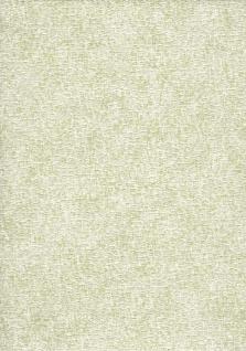 Elegante Uni Struktur Vlies Tapete creme grün schimmernd FT221237 Fabric Touch