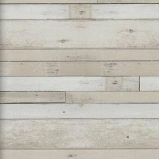 Vlies Tapete Antik Holz Muster rustikal bretter beige braun vertäfelung 49773