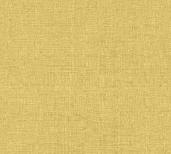 Vliestapete Uni Struktur Textil Leinen Optik gelb 36777-7 / 367777