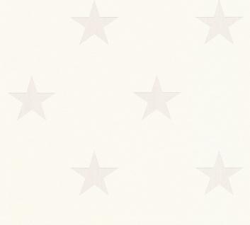 Vliestapete Sterne weiß Sternchen 32521-1 by METROPOLIS Michalsky Living 325211
