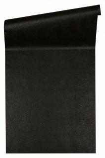 Versace 4 Design Luxus Uni Vlies Tapete schwarz meliert metallic 935914