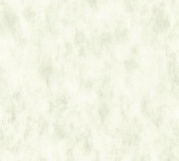 Vliestapete Landhaus Vintage Uni creme grün 35879-6 Djooz 2
