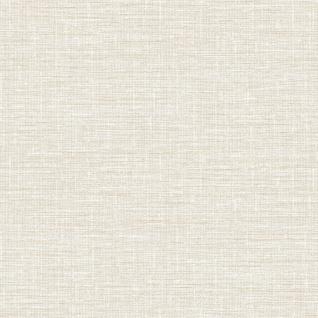 Elegante Uni Weboptik Stoff Struktur Vliestapete creme weiß metallic DE120111