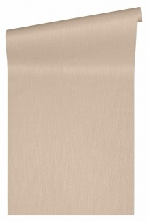 Versace 4 Luxus Uni Textil Optik Vlies Tapete beige metallic 343276