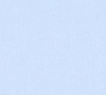 Vliestapete Kinder Uni blau einfarbig Little Stars 35834-5