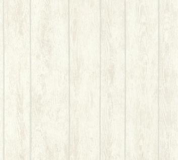 Vliestapete Holz Optik Antik Struktur Paneele creme verwittert Boho Love 36460-2