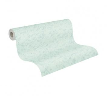 Vlies Tapete Spachtel Optik Beton Stein mint grün Concrete 37835-4 / 378354