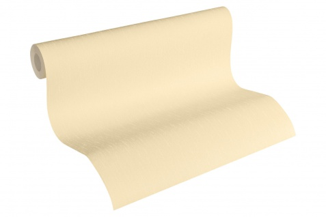 Luxus Vliestapete Uni creme beige 34277-1 Hermitage einfarbig