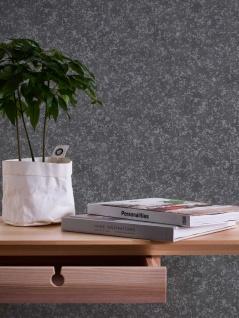 Vlies Tapete Beton Stein Optik anthrazit silber grau metallic Concrete 3777-46