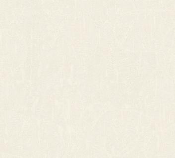 Vlies Tapete Uni Putz Struktur Spachtel Optik creme weiß glanz 34502-2 Chateau 5