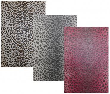 Vlies Tapete Leoparden Optik Fell braun weiss beige grau silber pink Arfika stil