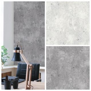 Vliestapete Beton Optik hell grau / grau Betontapete Industrial Loft Stein Wand