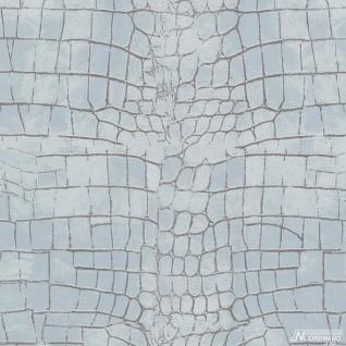 Vlies Tapete Bruchstein Stein Struktur Tapete pastell blau 68603
