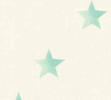 Vliestapete Sterntapete maritim beige grün 35183-1 Côte d`Azur Sternchen