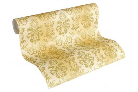Luxus Vliestapete Barock Ornament creme gold glanz 33545-2 metallic Hermitage