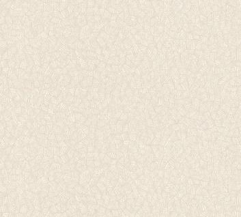 Grafisches Mosaik Muster Vlies Tapete creme beige geometrisch Palila 363113