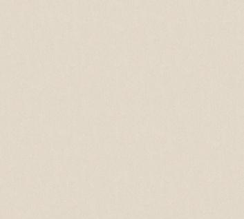 Vlies Tapete Uni grau beige creme glanz 34393-6 Chateau 5