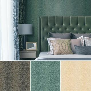 Design ID Vliestapete Textile Metallic Struktur Streifen braun petrol gold