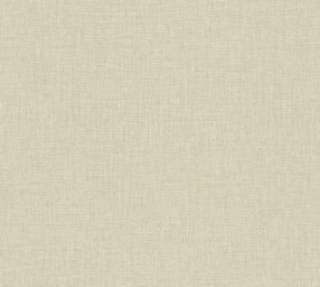 Versace 4 Luxus Uni Struktur Vlies Tapete creme beige metallic 962333